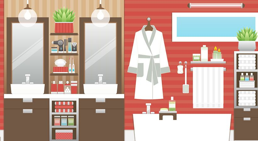 3 Places in your house that you should clean every week!