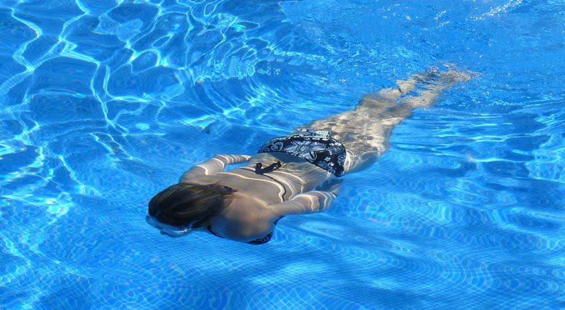 Why do you get so tired of swimming?