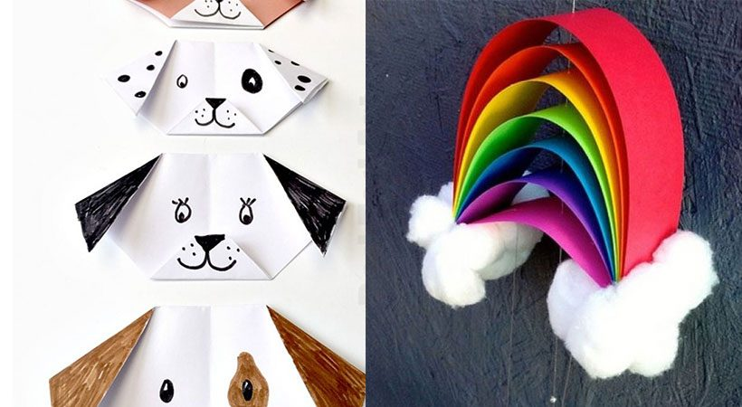 DIY: 6 x the nicest easy craft  you can make with paper